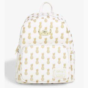 Disney Stitch Metallic Pineapples mini Backpack